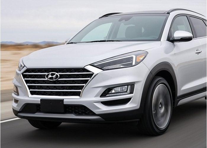 2020 Hyundai Tucson Limited SUV Silver