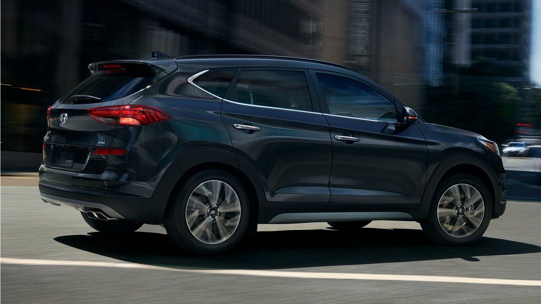 2020 Hyundai Tucson Limited SUV Blue