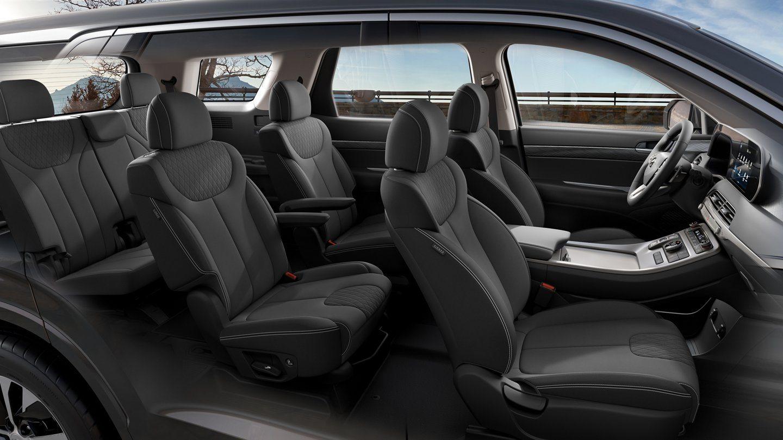 2020 Hyundai Palisade SEL Interior