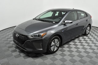 New 2019 Hyundai Ioniq Hybrid Blue Hatchback for Sale in Atlanta at Jim Ellis Hyundai
