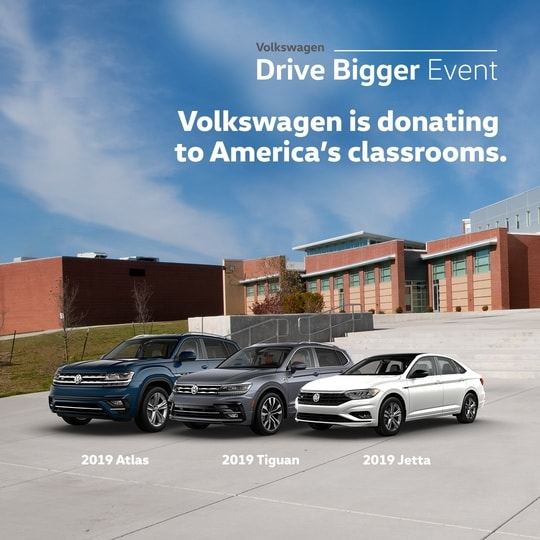 VW Drive Bigger and Donors Choose