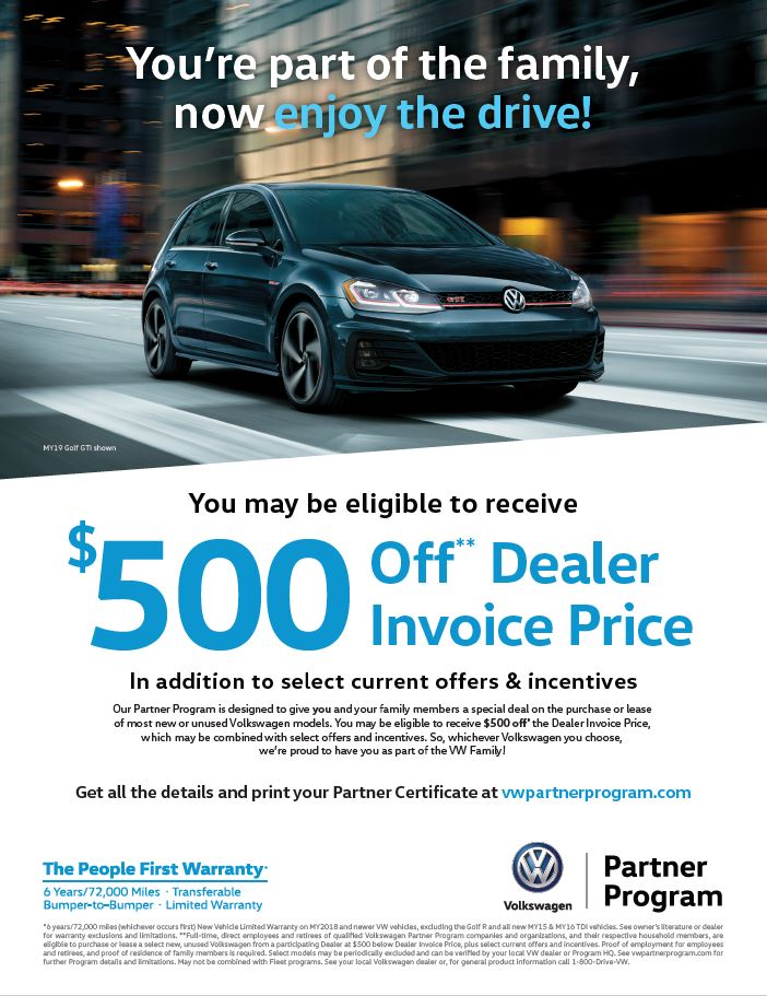 VW Partner Program