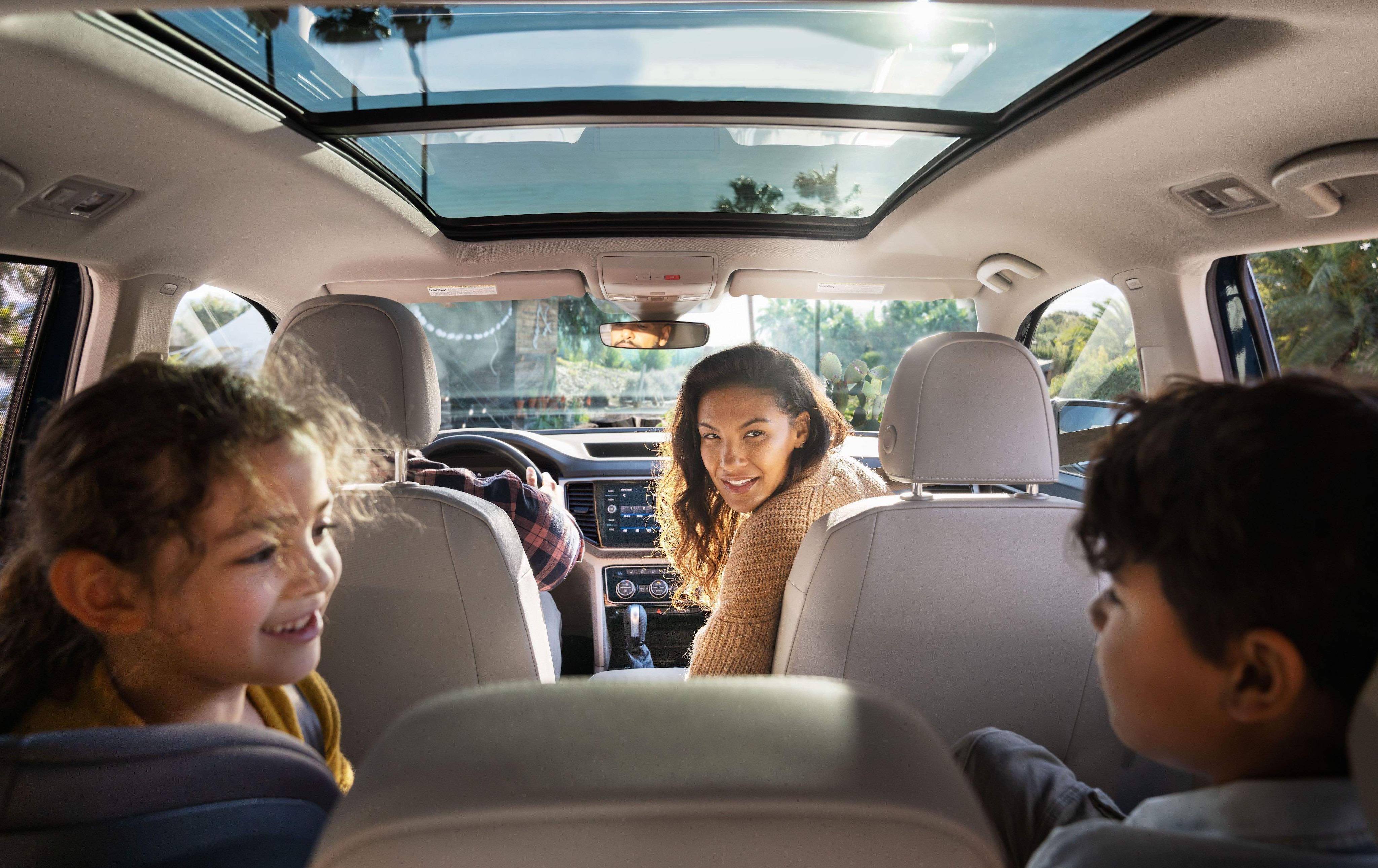 Volkswagen Atlas Good SUV Interior