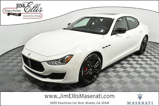 New 2019 Maserati Ghibli Base Sedan S3742 for Sale in Marietta at Jim Ellis Maserati