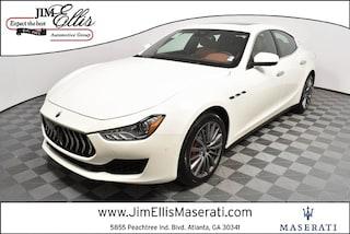 New 2019 Maserati Ghibli Base Sedan S3752 for Sale in Marietta at Jim Ellis Maserati