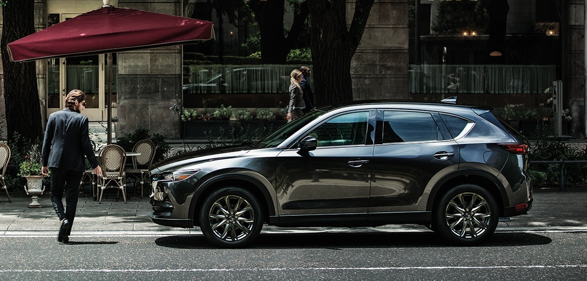 2020 Mazda CX-5 Side view