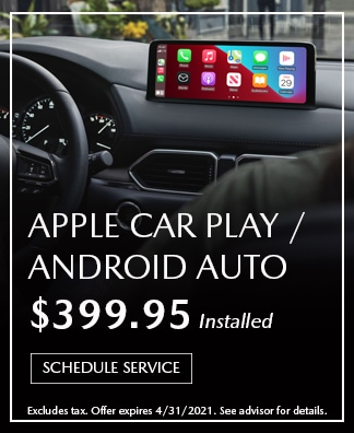 Apple Car Play Android Auto Offer