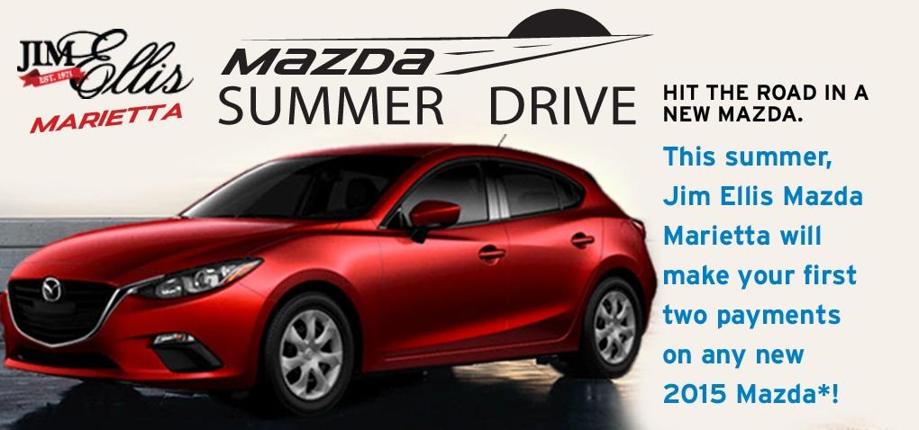 Mazda Capital Services Lease >> SUMMER DRIVE EVENT AT JIM ELLIS MAZDA MARIETTA | Jim Ellis ...