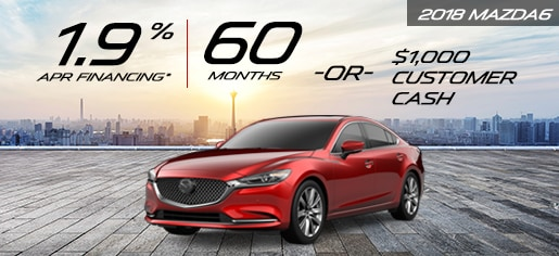 **1.9% APR For Qualified Buyers When Financing Through Mazda Capital  Services. 60 Months @ $17.48 Per $1000 Financed. Plus TAVT, Title And  License Fees.