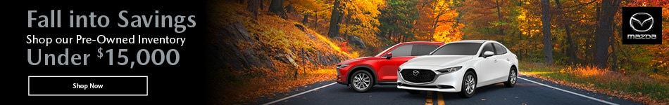 Fall into Savings - Pre-Owned Inventory Under $15k