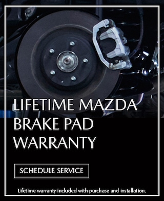 Brake Pad Lifetime Warranty