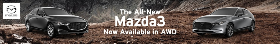 Mazda 3 - Now Available in AWD