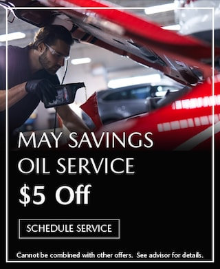May Oil Service $5 Off