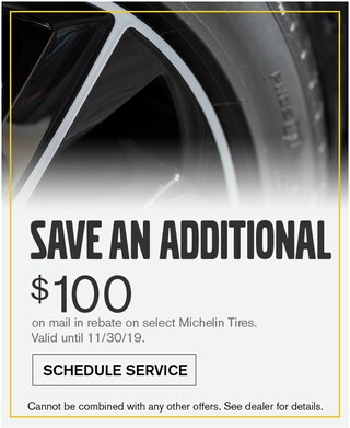 Mail In Michelin Tires through 11/30/19