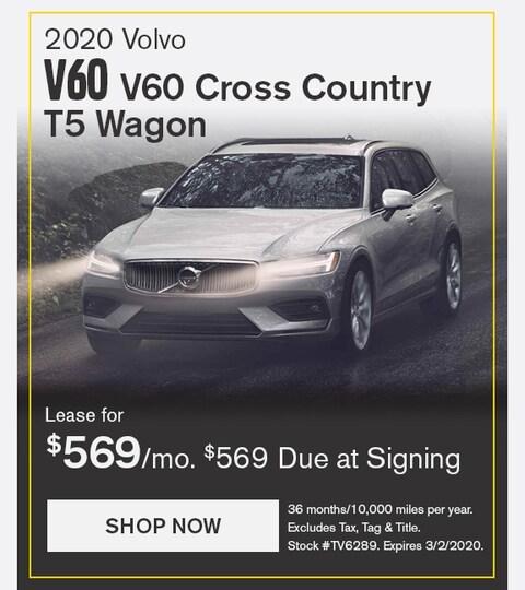 Volvo V60 CC February 2020 Lease Special