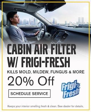Cabin Filter with Frigi-Fresh