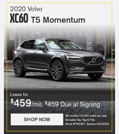 Volvo XC60 February 2020 Lease Special