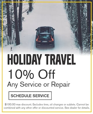 Holiday Travel 10% Any Service or Repair