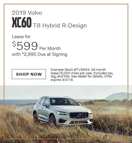 2019 Volvo XC60 Hybrid - August Offer