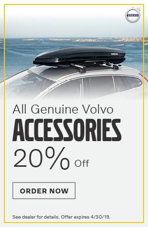 20% Off Volvo Accessories - April
