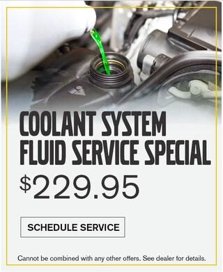 Coolant System Fluid Service $229.95