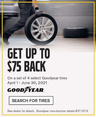 Goodyear Tire $75 Rebate