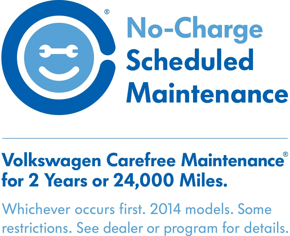 vw service carefree maintenance vw service