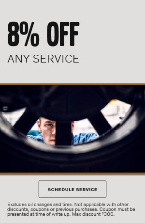 8% OFF ANY SERVICE