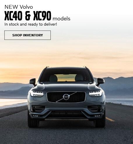 New Volvo XC40 & XC90