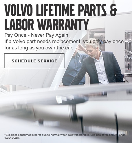 Volvo Lifetime Parts & Labor Warranty