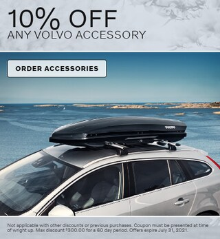10% Off Any Volvo Accessory