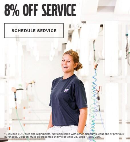 8% Off Service