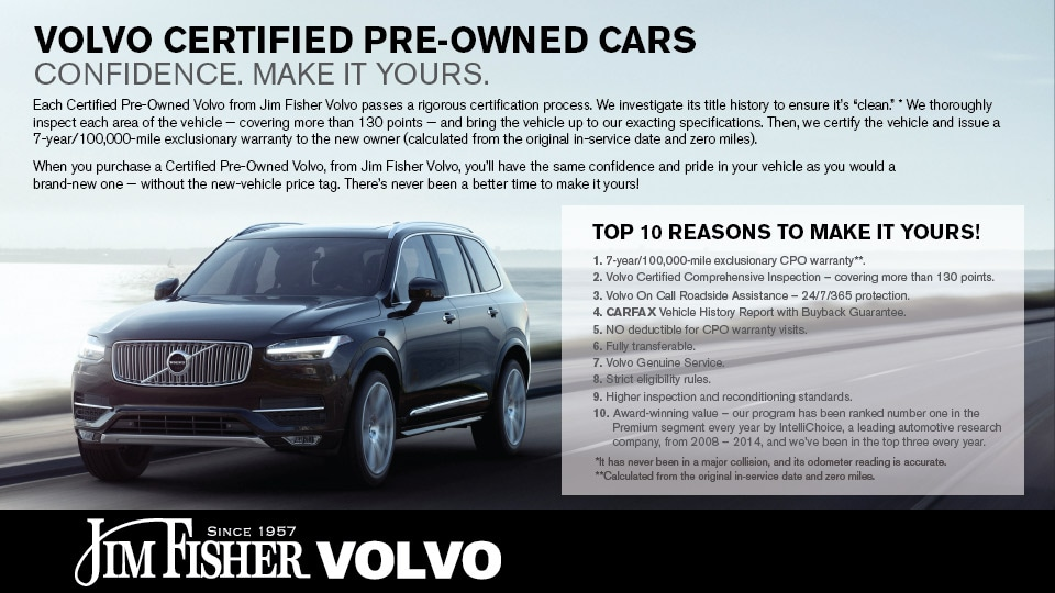 Volvo Certified Pre Owned >> Certified Pre Owned Volvo Jim Fisher Volvo In Portland Or