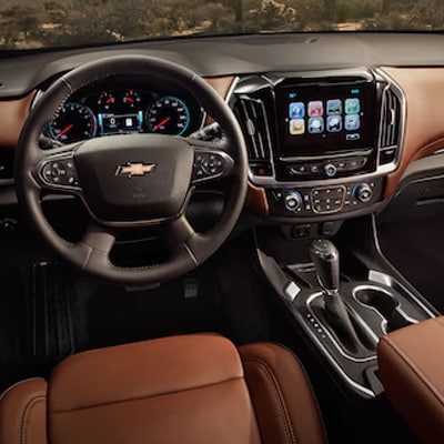 2018 Chevy Traverse Interior
