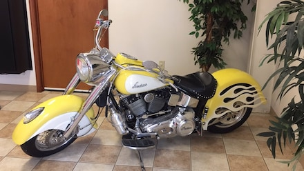 2000 Indian Chief WHITE Motorcycle