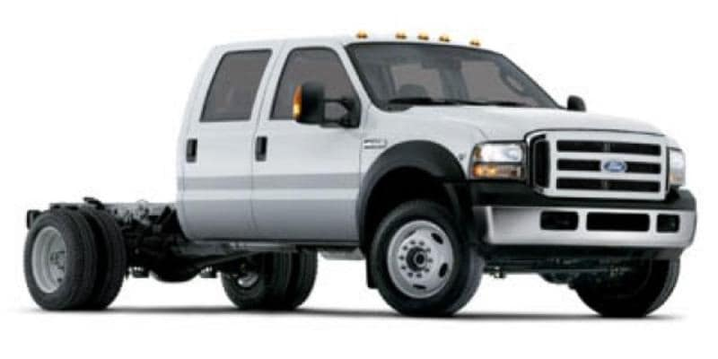 2006 Ford F-550 Chassis Cab XLT Chassis Truck