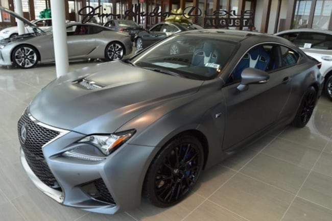 New 2019 Lexus Rc F For Sale At Jim Hudson Lexus Augusta Vin