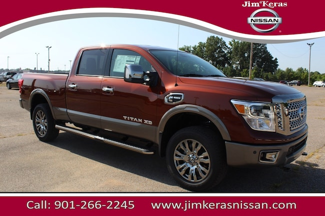 New 2018 Nissan Titan XD Platinum Reserve Diesel Truck Crew Cab For Sale in Memphis, TN