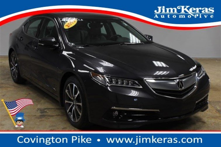 Used 2015 Acura TLX TLX 3.5 V-6 9-AT P-AWS with Advance Package Sedan for sale in Memphis, TN at Jim Keras Subaru
