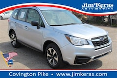 Certified Pre-Owned 2018 Subaru Forester 2.5i SUV for sale in Memphis, TN at Jim Keras Subaru
