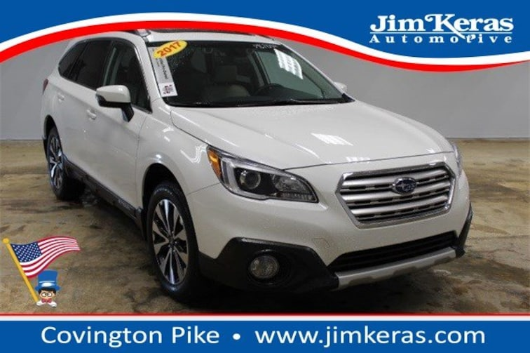 Certified Used 2017 Subaru Outback 2.5i Limited with SUV in Memphis, TN