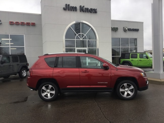Used 2016 Jeep Compass High Altitude SUV for Sale in Hillsdale, MI