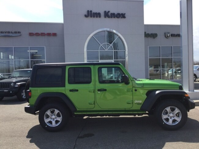 New 2019 Jeep Wrangler UNLIMITED SPORT S 4X4 Sport Utility for Sale in Hillsdale, MI