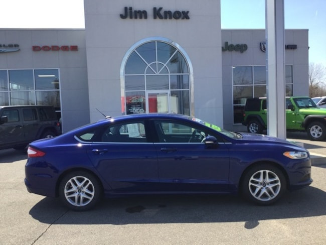 Used 2015 Ford Fusion SE Sedan for Sale in Hillsdale, MI