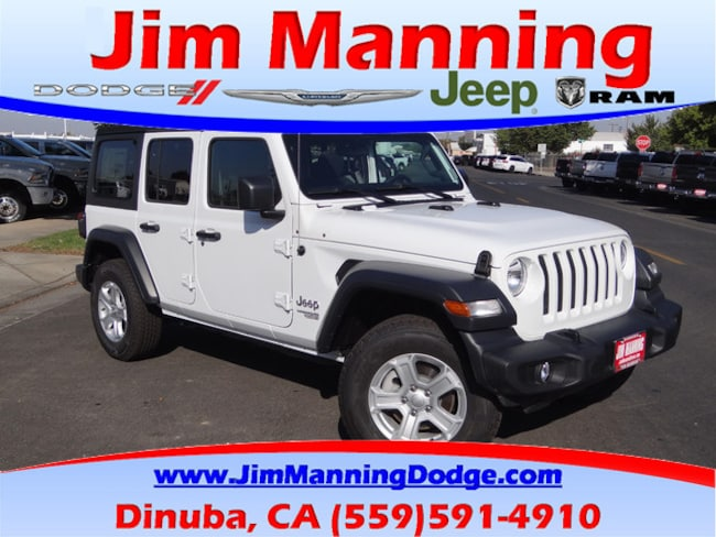 New 2018 Jeep Wrangler UNLIMITED SPORT S 4X4 For Sale/Lease | Dinuba