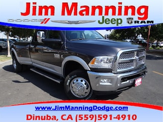 new 2018 Ram 3500 LARAMIE CREW CAB 4X4 8' BOX Crew Cab for sale dinuba ca