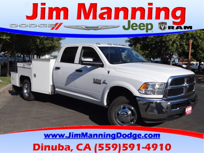 New 2018 Ram 3500 TRADESMAN CREW CAB CHASSIS 4X4 172 4 WB