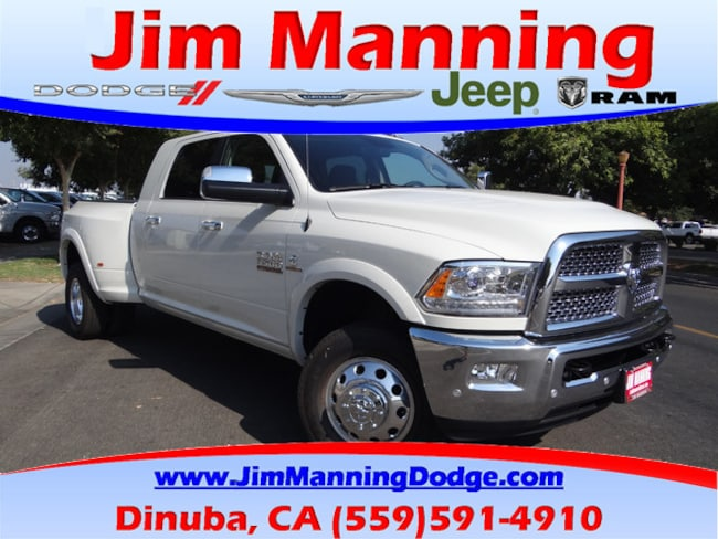 New  2018 Ram 3500 LARAMIE MEGA CAB 4X4 6'4 BOX Mega Cab For Sale/Lease Dinuba, CA
