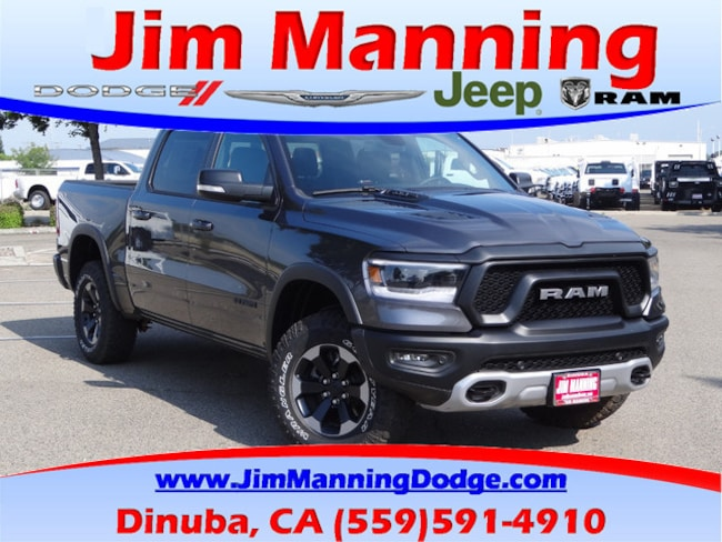New  2019 Ram 1500 REBEL CREW CAB 4X4 5'7 BOX Crew Cab For Sale/Lease Dinuba, CA