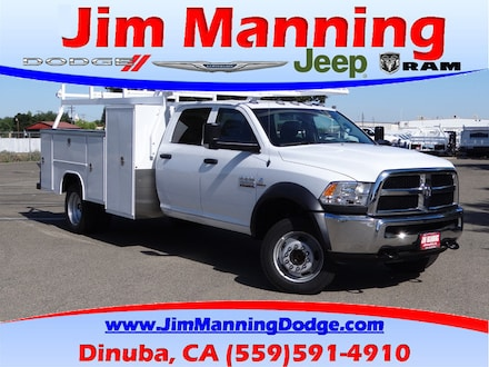 2018 Ram 5500 Chassis Cab 5500 TRADESMAN CHASSIS CREW CAB 4X2 197.4 WB Crew Cab